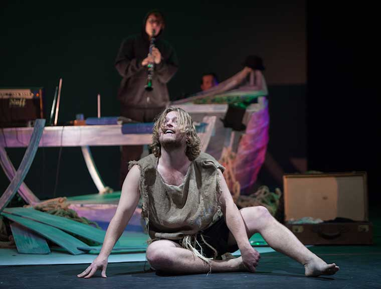 "Caliban in ""The Tempest"" - Autumn 2012"